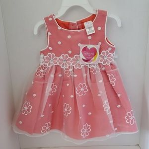 Pink dress  youngland baby